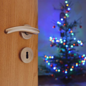 home security tips over the holiday season